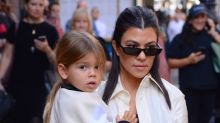 "Kourtney Kardashian is ""not ok"" with Reign's surprise haircut"