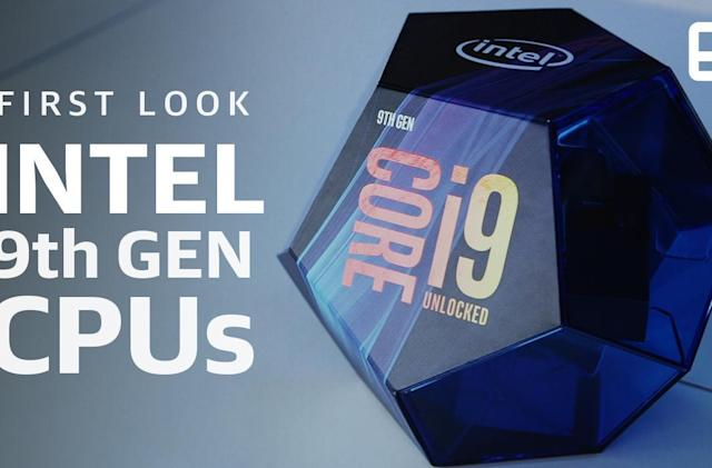 Intel's 9th-generation Core processors reach up to 5GHz