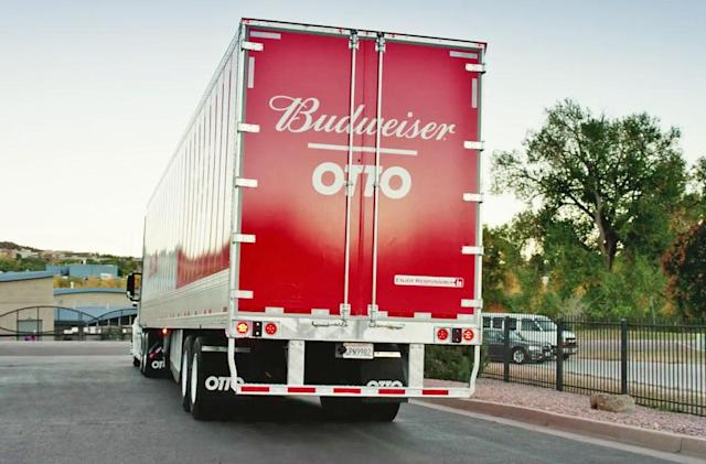 Uber's self-driving truck company completes a 120-mile beer run