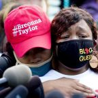 'I have no faith in the legal system.' Breonna Taylor's mother attends emotional protest