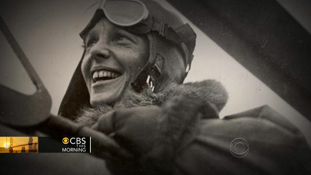 Do newly-released photos show Amelia Earhart's plane?