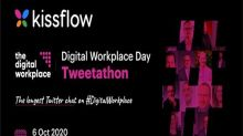 Kissflow partners with The Digital Workplace for a first-of-its-kind Tweetathon on Digital Workplace Day
