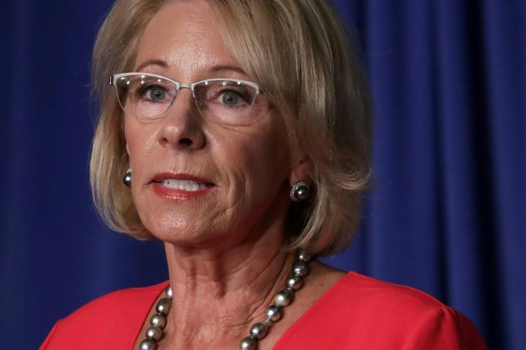 Betsy DeVos says CDC school guidelines for coronavirus 'meant to be flexible'