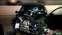 Police Officer, 5 Others Injured In Chain Reaction Crash In Bucks County