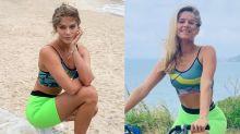 """Isabella Santoni fala como mantém corpo em forma: """"Tudo na vida é equilíbrio"""""""