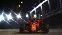 Ferrari's Charles Leclerc takes third straight pole at Singapore GP