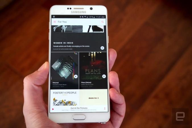 Apple Music now lets Android users save music to an SD card
