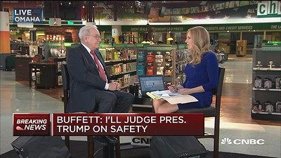 Warren Buffett Ill Judge Trump By How He Handles The No  Threat To Us Security