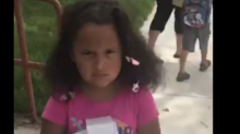 This girl's reaction to her first day of kindergarten is insanely relatable