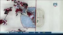 Cam Ward robs Devils with falling glove save