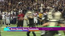 Drew Brees sues teammate
