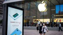 Huawei, Apple gain bigger share of shrinking China smartphone market