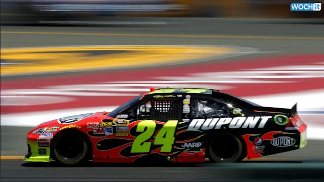 Jeff Gordon Wins Pole At Watkins Glen (Yahoo Sports)