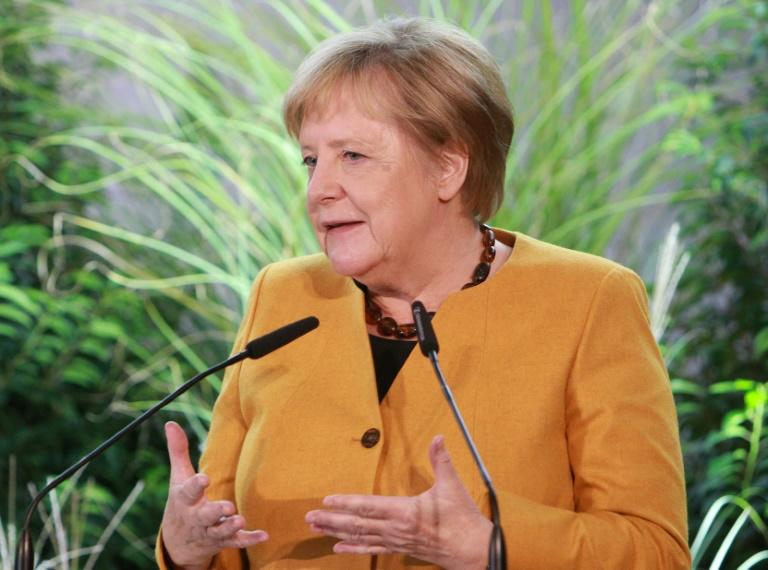 Angela Merkel's government last year admitted it would fall short of its climate target of slashing greenhouse gas emissions by 40 percent by 2020 compared to 1990 levels (AFP Photo/Daniel ROLAND)