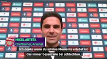 Aubameyang? Arteta glaubt an Verbleib bei Arsenal