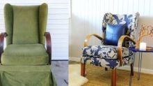 One woman upcycles old armchairs and sells them for 20 times their original cost