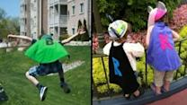 Capes Turn Sick Kids Into Superheroes