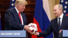 Putin's Soccer Ball for Trump Had Transmitter Chip, Logo Indicates