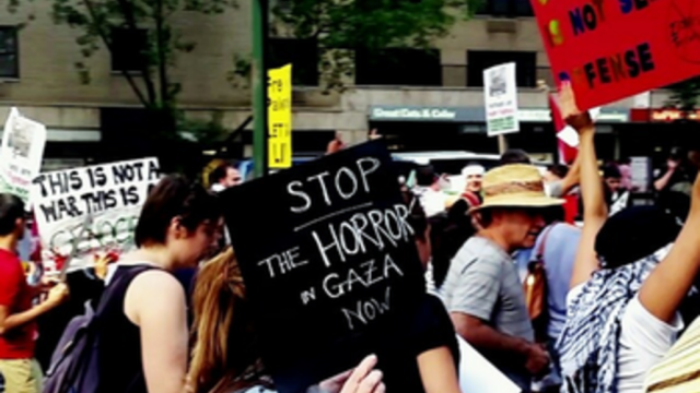 Thousands Protest in NYC for Gaza Day of Rage