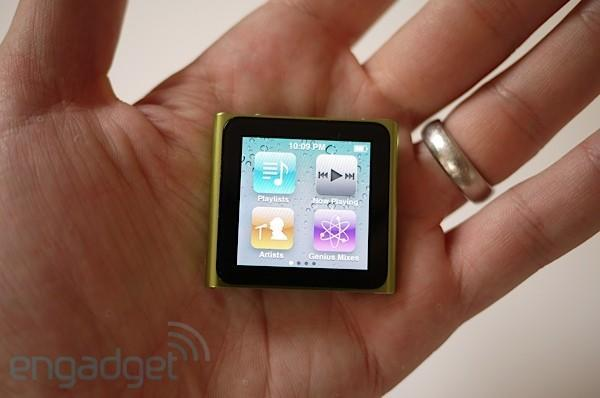 Apple pushes software update for new iPod nano, still makes an iffy wristwatch