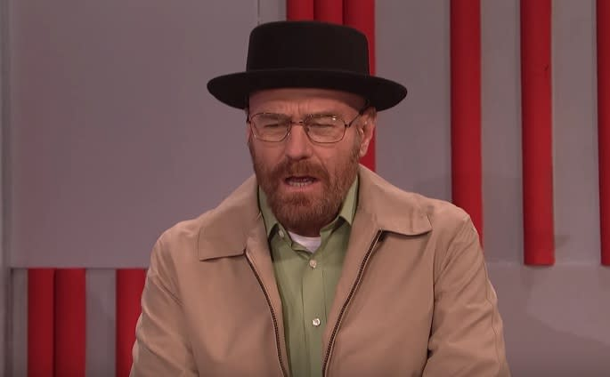Bryan Cranston Brought Back Walter White From Breaking