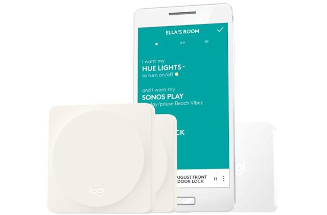 Logitech's Pop button controls your entire smart home