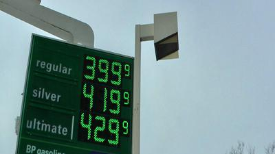 Worried Drivers Watch As Gas Prices Surge