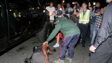 Justin Bieber atropelló a un fotógrafo y después oró por él