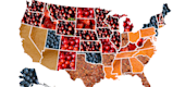 Most popular pies by state. (Instagram)