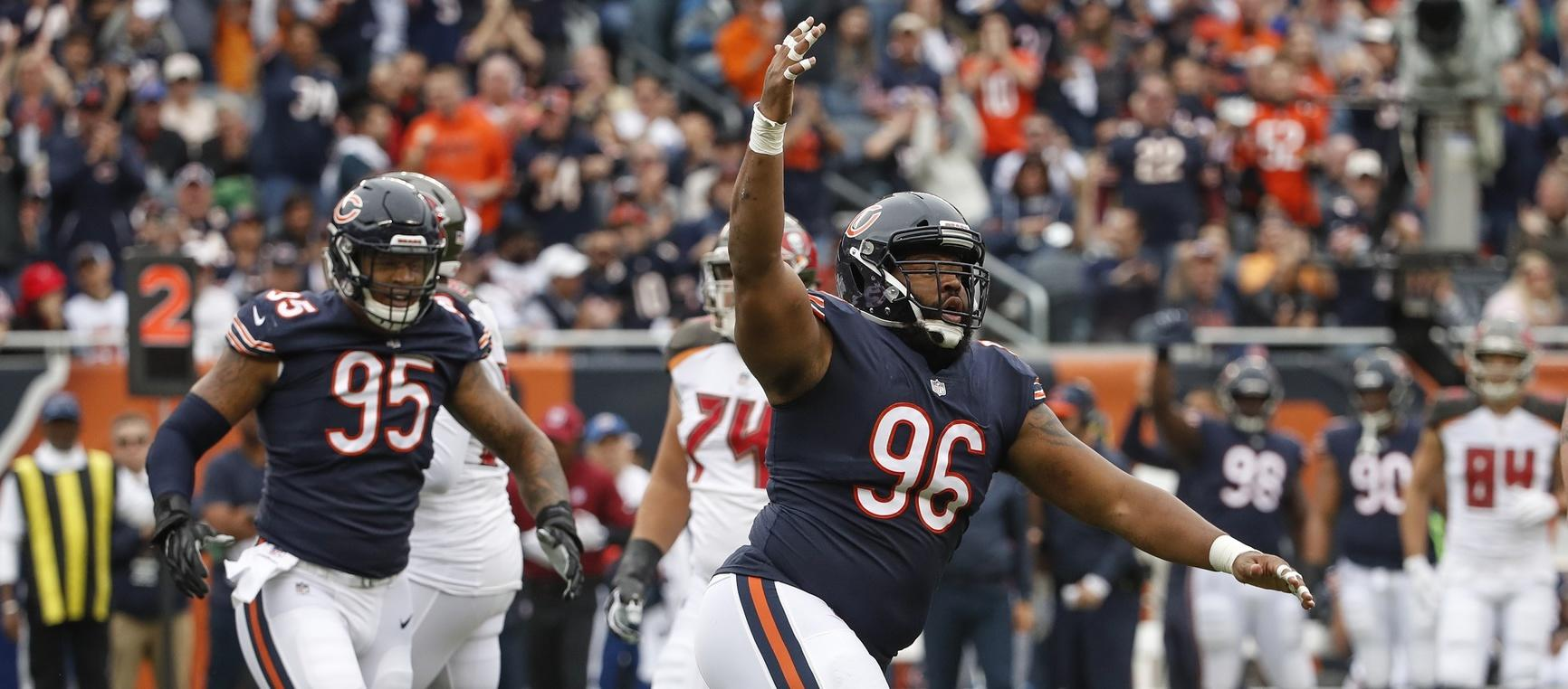 An apologetic Akiem Hicks is ready to destroy everything against Miami