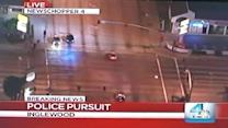 Police Chase With a Twist!