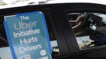 Uber drivers sue company alleging coercive Prop 22 advertising
