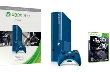Arctic blue Xbox 360 among three holiday bundles out next week