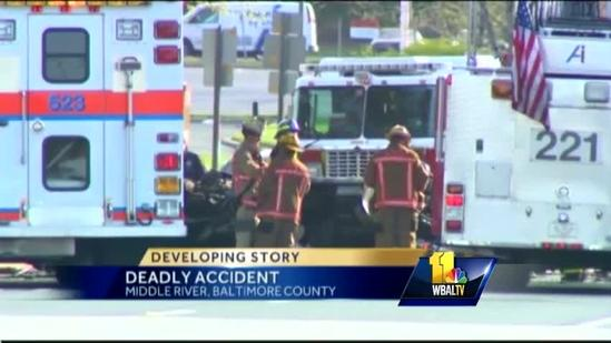 Route 40 reopens after double fatal crash