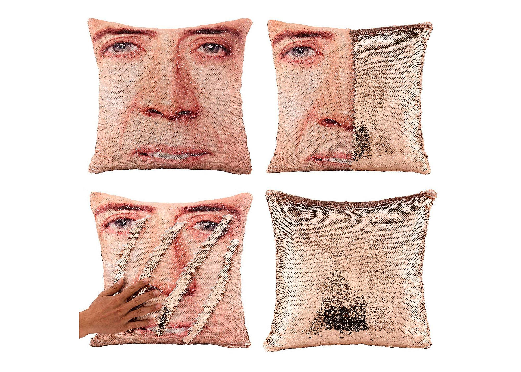 There's a Reversible Sequin Pillowcase