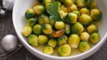 Spruce up your sprouts: Curried Brussels with mango chutney recipe