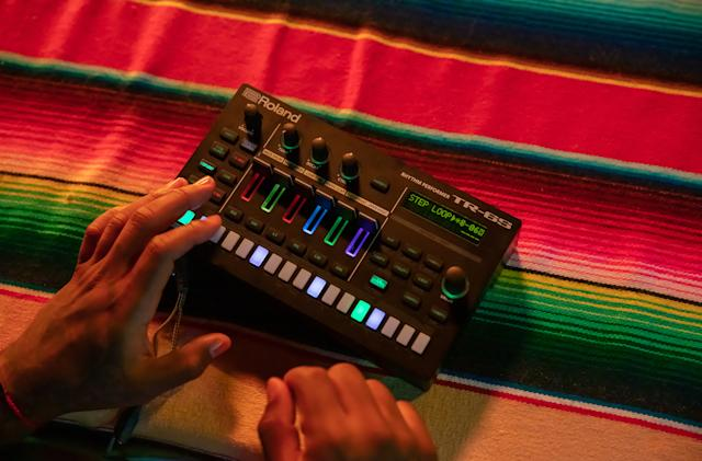 Roland's portable TR-6S replicates classic '80s drum machines on a budget