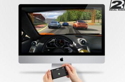 Drive Real Racing for Mac with an iOS device, or steer your AR.Drone with a Mac
