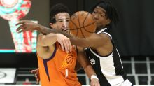 Phoenix Suns guard Devin Booker: Mask doesn't really affect me