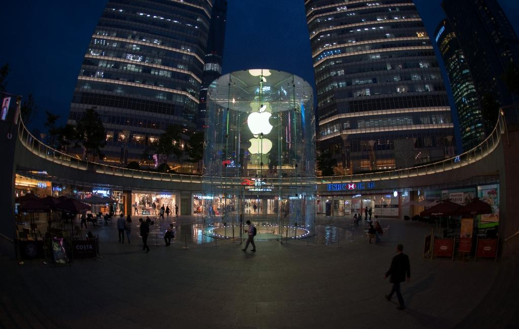 Greater China is a key market for Apple but its sales in the area fell 26 percent year-on-year in the first three months of 2016 (AFP Photo/Johannes Eisele)