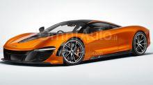 McLaren Speedtail, così speciale che il logo è in oro o platino