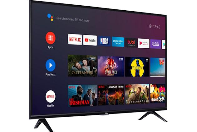 TCL starts selling Android-powered TVs in the US