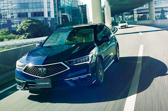 Honda will sell 100 of its level 3 self-driving Legend sedans in Japan
