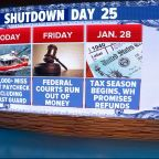 Impact of government shutdown hits Coast Guard, federal courts
