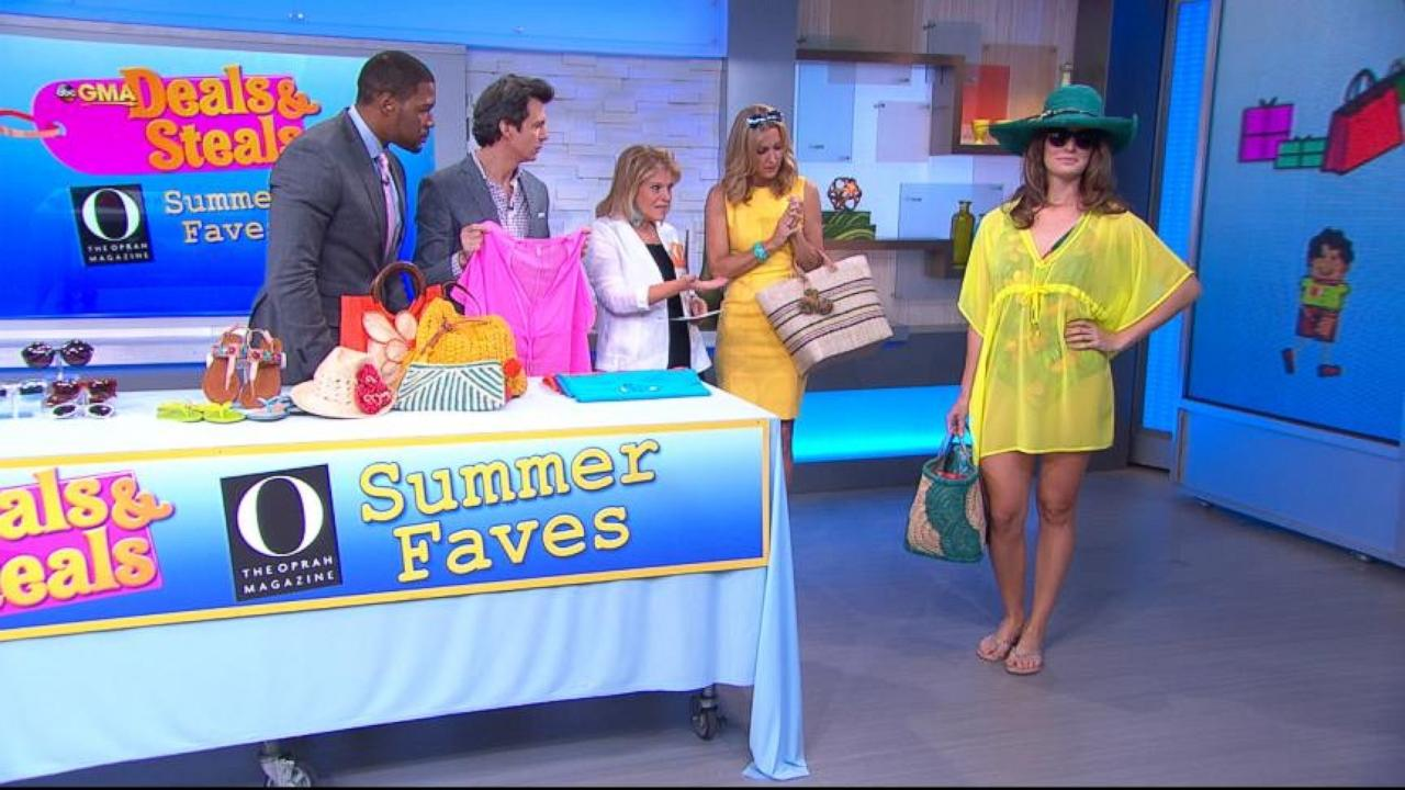 Good Morning America Deals And Steals September 2014 : Gma deals and steals on o magazine s summer favorites