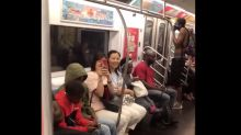 New York City subway riders belt out hit Backstreet Boys song in impromptu singalong