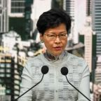 Beijing says will 'firmly support' Hong Kong leader Lam