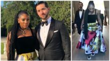 The hidden detail about Serena Williams' royal wedding reception outfit