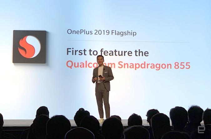 On-stage mistake means OnePlus won't have the first Snapdragon 855 phone