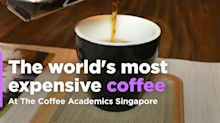 The world's most expensive coffee at The Coffee Academics